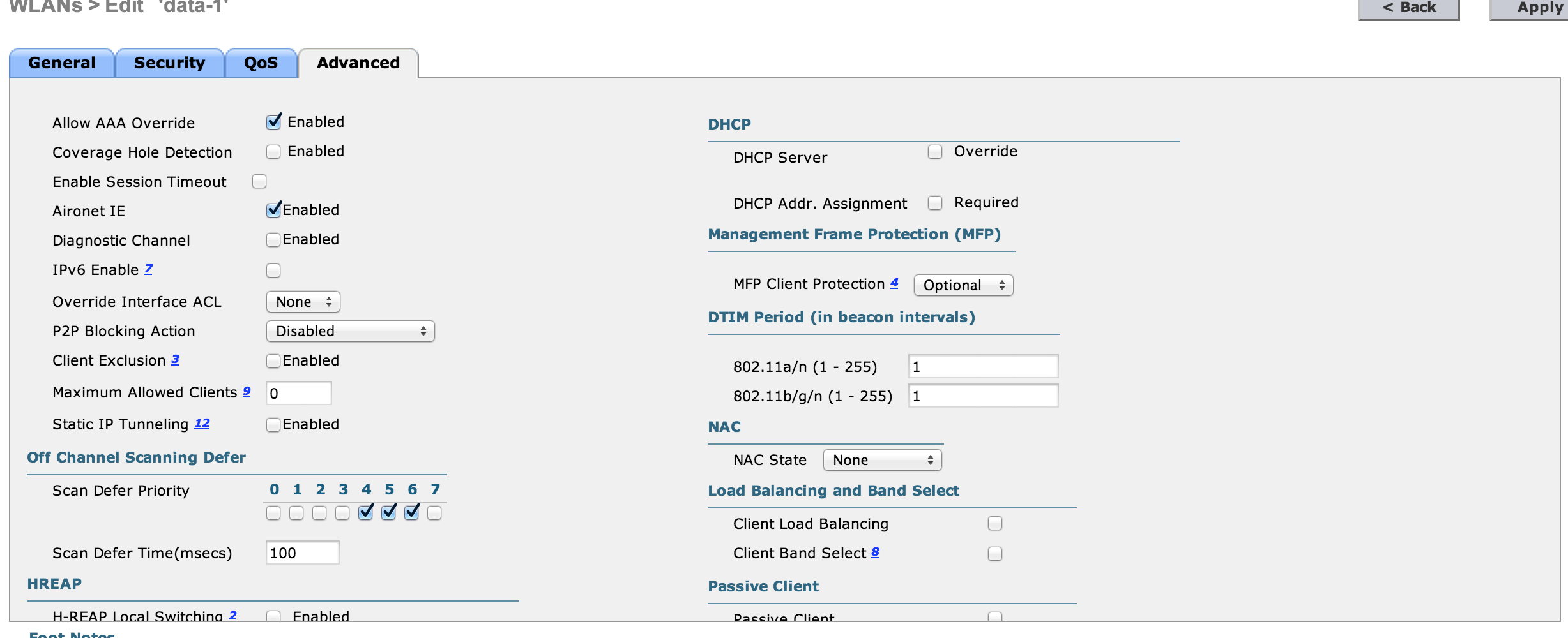 Delineated Wireless Access based on SSID and Protocol - Borderless CCIE